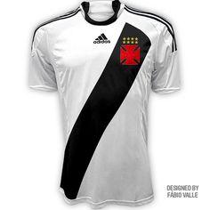 10 melhores imagens de Soccer Shirt - Vasco Gama - RJ ... e095aa71a4919
