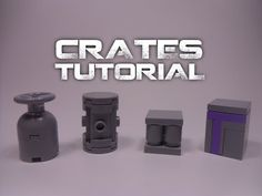 (1) How to Make LEGO Crates (Technique Tuesday Tutorial #14) - YouTube