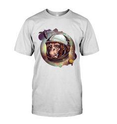 Cosmic Chimp T shirt - Buy T Shirts Online, Cosmic, Mens Tops, Cotton, Fashion, Moda, Fashion Styles, Fashion Illustrations