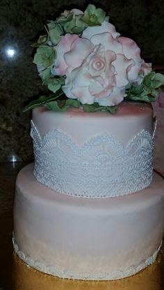 Vanilla cake for church