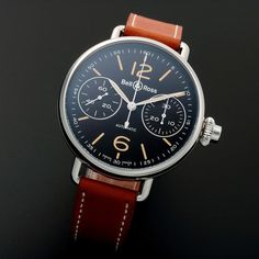 Bell & Ross One Button Chronograph Automatic // BRWW1 // c. 2016 // Unworn