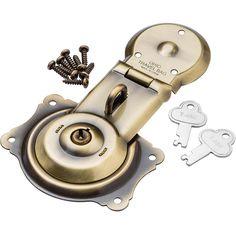 Antique Brass Figure 8 Trunk Lock - Cabinet And Furniture Locks - Amazon.com