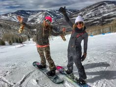 Hannah Teter And Jamie Anderson