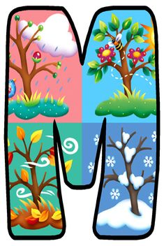 Alphabet And Numbers, Mystic, Initials, Clip Art, Seasons, Illustration, Floral, Creative, Frames