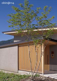 安曇野の平屋の家 Architecture 101, Japanese Architecture, Japanese Modern House, Japanese Design, Zen Design Interior, Asian House, Architectural Features, House Entrance, Facade House