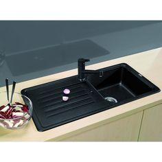 CHIUVETA DE BUCATARIE BLANCO FAVOS SILGRANIT ANTRACIT REVERSIBILA INCORPORABILA - Iak Bath Caddy, Bathroom, White People, Washroom, Full Bath, Bath, Bathrooms