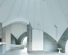 Teepee-Shaped House in Japan by Issei Suma