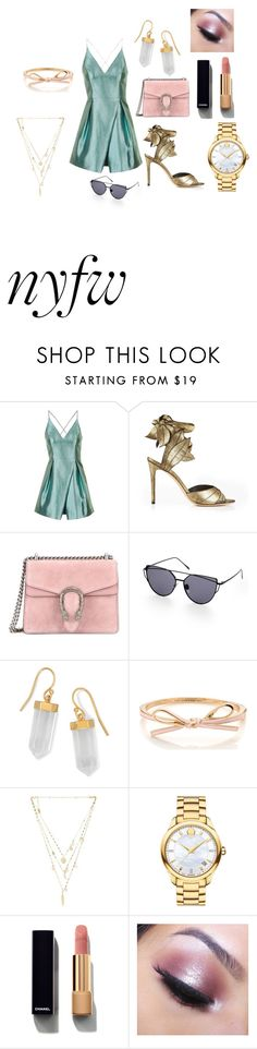 """""""Strut your stuff"""" by starlord221b on Polyvore featuring Topshop, Vivienne Westwood, Gucci, BillyTheTree, Ettika, Movado, Chanel and Too Faced Cosmetics"""