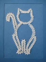 Bildergebnis für modèles chats dentelle aux fuseaux