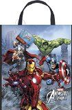Avengers Assemble Plastic Party Tote Bags with Handle x 5