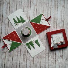 "Weihnachts-Workshop ""Explosionsbox"" – Stamp-Style - New Ideas Valentines Day Drawing, Valentines Day Wishes, Valentines Day Background, Valentine Day Love, Baby Scrapbook, Scrapbook Paper, Scrapbooking, Happy Birthday Flower, Best Birthday Gifts"