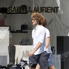 EXCLUSIVE Man Utd's Marouane Fellaini  spotted with his brother in New York (339519)