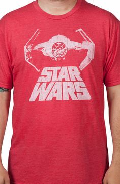 Sheldons Star Wars Tie Fighter Shirt: Star Wars Mens T-shirt