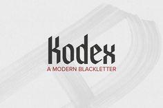 Kodex – Free Font