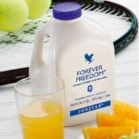 Forever Freedom® - An aloe vera based drink that  not only supports immune function but also  joint health in an orange-flavored juice formula. Due to the aloe vera carrier, it is easy to assimilate. Ideal for sporty or mature people.
