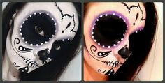 My Sugar Skull ( Face paint ).