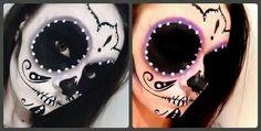 My Sugar Skull ( Face paint ).