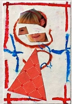 Kids Art Market: preschool first portrait - love this for a book introducing classmates.