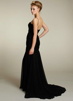 631776a4578d longhems.com long black bridesmaid dresses (06)  longdresses Silk Organza