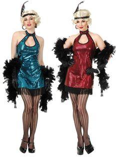 Adult Flashy Blue Sequin Flapper Costume Disfraz Flapper 5ff2a75a9bc