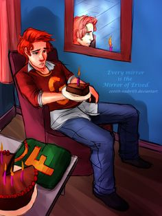 April Fools! Happy Birthday to us Fred by Zenith-Nadir69 on deviantART ---this is so sad. Fred's death was probably the saddest part of the entire book.