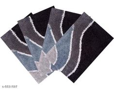 Doormats & Bath Mats Exquisite Colorful Cotton Doormats Material: Cotton Multipack: 4 Sizes: Free Size (Length Size: 24 cm Width Size: 16 cm) Country of Origin: India Sizes Available: Free Size   Catalog Rating: ★4 (472)  Catalog Name: Gorgeous Alluring Doormats CatalogID_826481 C55-SC1118 Code: 682-5531597-345