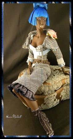 Hatless by CarmMeldoll - Nandi Queen Mother - via Flickr