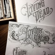Design resource for typography and lettering lovers. We showcase work by incredible artists and provide resources to better serve the typography community. Typography Drawing, Calligraphy Drawing, Tattoo Lettering Fonts, Types Of Lettering, Lettering Styles, Graffiti Lettering, Typography Letters, Lettering Design, Hand Lettering