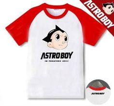 d1dbba9e5 Astro Boy T-Shirt Bullseye Logo in 2019   Things to wear   Astro boy ...