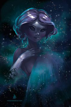 Nebula.  We are all made of stardust.