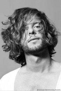 präsentiert von www.my-hair-and-me.de #men #hair #haare #black #and #white #long #lang