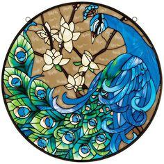 Joan Baker Designs Peacock Metal Frame Art Panel - Google Search