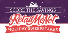RetailMeNot Holiday Instant Win Game