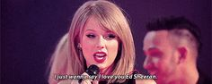 But then she only went and declared her love for Ed Sheeran during her acceptance speech. *faints* | Taylor Swift Told Ed Sheeran She Loved Him On Stage At The BRIT Awards