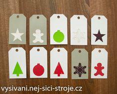 Vánoční visačky / Návody na vyřezávání Cutting Plotter, Advent Calendar, Playing Cards, Holiday Decor, Home Decor, Decoration Home, Room Decor, Advent Calenders, Playing Card Games