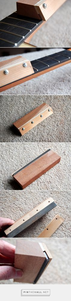 Tools and jigs   Finely Strung Fret File - created via http://pinthemall.net