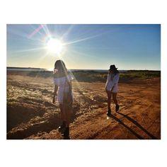 Desert fashion photography