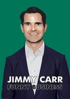 Jimmy Carr Funny Business - saw this one live, hilarious.