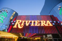 The taller of two hotel towers of the shuttered Riviera will be imploded early June 14, a spokesman for the Las Vegas Convention and Visitors Authority said Wednesday.