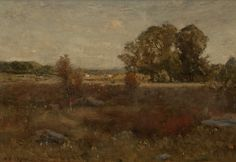 Dwight Tryon, Autumn Landscape, ca. 1887, Private Collection, NY