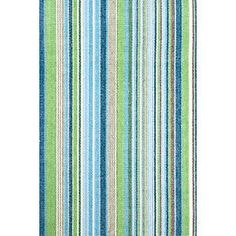 Fisher Ticking Cotton Woven Rug