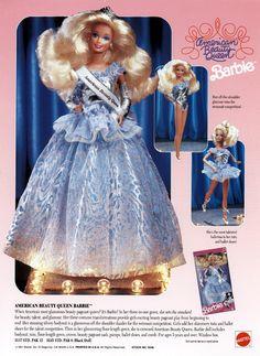 1990 American Beauty Queen Barbie