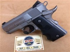 Fresh to Victory GGW inventory is this 98-99% minty condition #Colt #Defender Lightweight #Alloy and #Stainless #Steel #pistol. @victoryggw #gun #guitar #texas