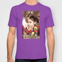 Korean Dancing Girls T-shirt by Robert Lee - $18.00 #art #Asian #girls #Korean #oil #painting #iphone #ipod #ipad #galaxy #s4 #s5 #s6 #case #cover #skin #colors #mug #bag #pillow #stationery #apple #mac #laptop #sweat #shirt #tank #top #clothing #clothes #hoody #kids #children #boys #girls #men #women #ladies #lines #love #light #home #office #style #fashion #accessory #for #her #him #gift #want #need #love #print #canvas #framed #Robert #S. #Lee