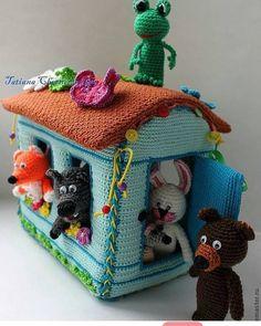 63 Trendy Ideas For Crochet Animals Patterns Book Crochet Fairy, Cute Crochet, Crochet For Kids, Crochet Ideas, Crochet Baby Toys, Crochet Home, Crochet Gifts, Crochet Animal Patterns, Crochet Animals