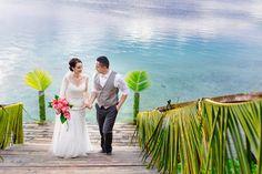 Josie+Melvin #DestinationWeddings in #Samoa