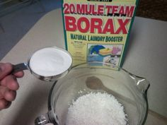 DIY laundry detergent--fast, easy and cheap.  Works for HE machines too.