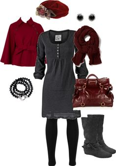 """New York Winter"" by leanna-bethany-branner on Polyvore"