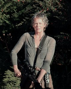 Carol & her many weapons