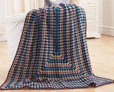 Deze deken bestaat uit 7 kleuren, omschreven respectievelijk als kleur A, B, C, D, E, F        Begin met 59 lossen.   1e toer : (goed...